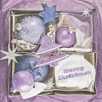 Servietten 33x33 cm - Baubles box