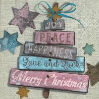 Lunch Servietten Christmas wishes