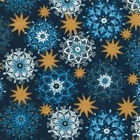 Servietten 33x33 cm - Filigrane Sterne