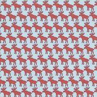 Lunch Servietten Moose pattern