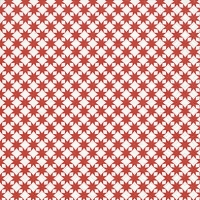 Lunch Servietten Star pattern red