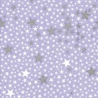 Lunch Servietten Starlets purple