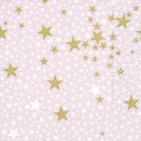 Lunch Servietten Starlets rosé