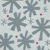 Servietten 33x33 cm - Modern snowflakes