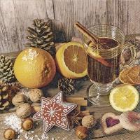 Servietten 33x33 cm - Geschmack des Advents