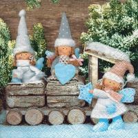 Servietten 33x33 cm - Weihnachtsfeen