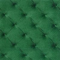 Servietten 33x33 cm - Samt grün