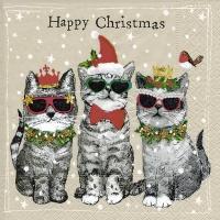 Servietten 33x33 cm - Frohe Weihnachten