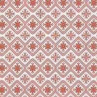 Servietten 33x33 cm - Winter pattern