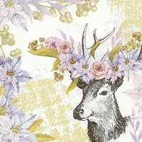 Servietten 33x33 cm - Dreamy deer