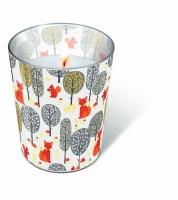 Glaskerze - Pilzsammler