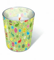 Glaskerze - Ostervergnügen