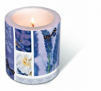 Dekorkerze Dream of lavender