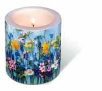 Dekorkerze - Candle Spring flowers