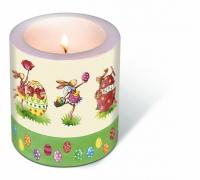 Dekorkerze Candle Easter round dance