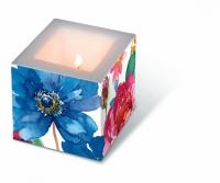 Dekorkerze Watercolour flowers