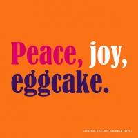 Servietten 33x33 cm - Eggcake