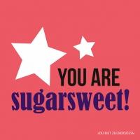 Servietten 33x33 cm - Sugarsweet