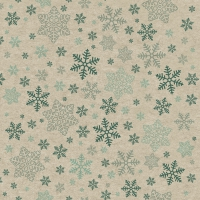 Servietten 33x33 cm - Snowflakes pattern