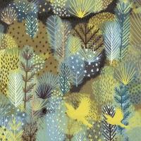 Servietten 24x24 cm - Magic forest