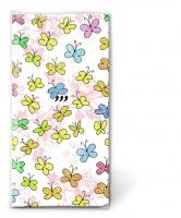 Taschentücher - Colourful papillons