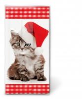 Taschentücher - Santa kitty