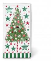 Taschentücher - Decorated tree