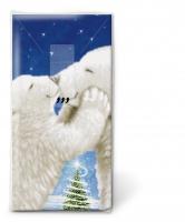 Taschentücher - Polar bear kiss