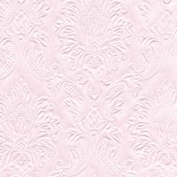 Servietten 24x24 cm - soft pink