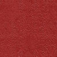 Servietten 24x24 cm - Moments Ornament red