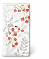 Taschentücher - Red berries