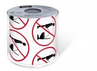bedrucktes Toilettenpapier - Topi Stop it