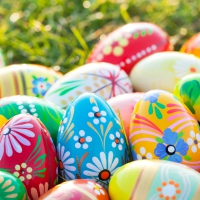Servietten 33x33 cm - Vibrant Eggs