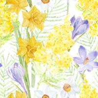 Servietten 33x33 cm - Spring Mantra