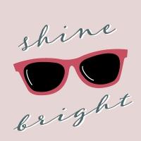 Servietten 33x33 cm - Shine Bright
