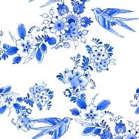 Servietten 25x25 cm - Blue Bird