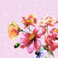Servietten 33x33 cm - Wild Florals