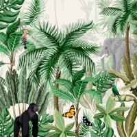 Servietten 24x24 cm - Rainforest