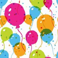 Servietten 25x25 cm - Splash Balloons