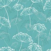 Servietten 33x33 cm - Moments Hovering Flowers