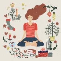 Servietten 33x33 cm - Peaceful Yoga