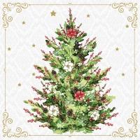 Servietten 33x33 cm - Christmas Tree