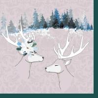 Servietten 24x24 cm - Deer Love