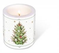 Dekorkerze - Decorated Christmas Tree