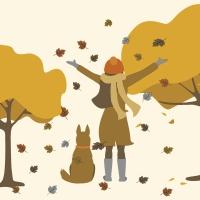 Servietten 33x33 cm - Garden Autumn