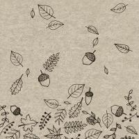 Servietten 33x33 cm - Autumnfall