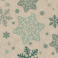 Servietten 24x24 cm - Snowflakes