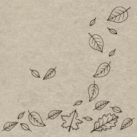 Servietten 24x24 cm - Autumnfall