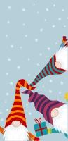 Taschentücher - Nordic Santas