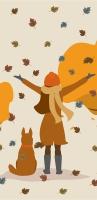 Taschentücher - Garden Autumn